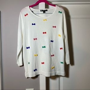 United States Sweaters Bow Sweater NWT